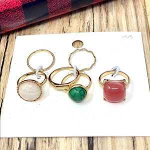 H&M Rings Set of 6